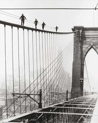 U567 - Unknown - Brooklyn Bridge Climb, 1926