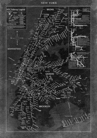 U582 - Unknown - New York Map