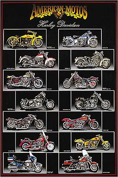 U606 - Unknown - Harley Davidson Chart