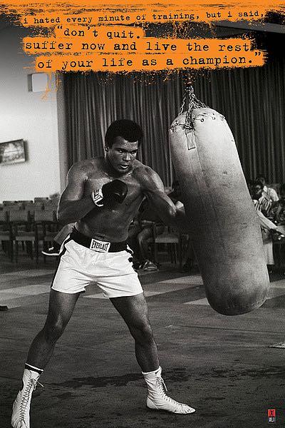U659 - Unknown - Muhammad Ali (Punchbag)