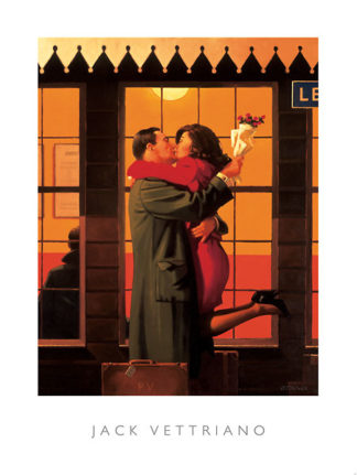 V170 - Vettriano, Jack - Back Where You Belong