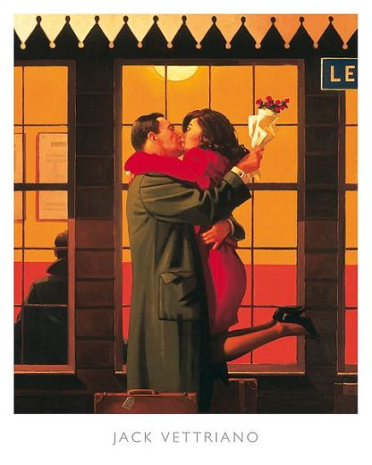 V177 - Vettriano, Jack - Back Where You Belong