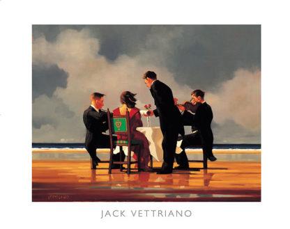 V469C - Vettriano, Jack - Elegy for a Dead Admiral (mirrored edge)