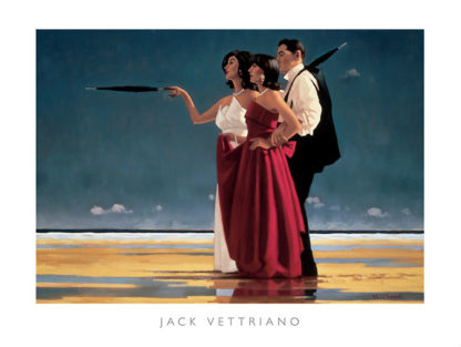 V183 - Vettriano, Jack - The Missing Man I