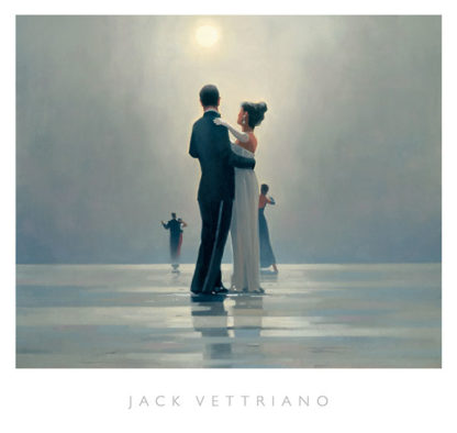V468C - Vettriano, Jack - Dance Me to the End of Love (mirrored edge)