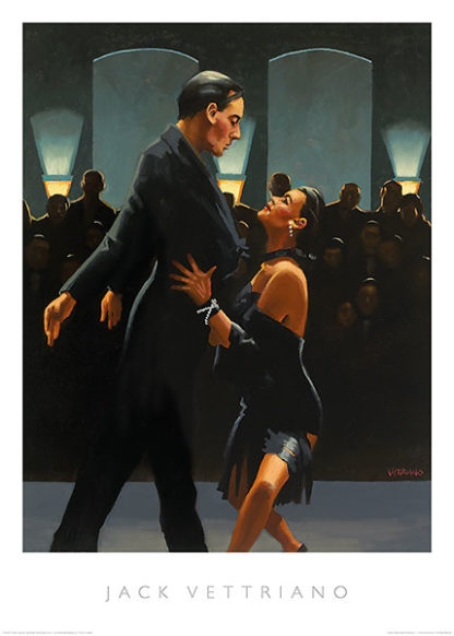 V457 - Vettriano, Jack - Rumba in Black