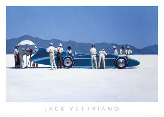 V467 - Vettriano, Jack - Bluebird at Bonneville