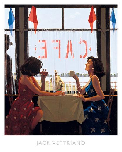V487 - Vettriano, Jack - Café Days