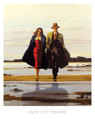 V489 - Vettriano, Jack - The Road to Nowhere