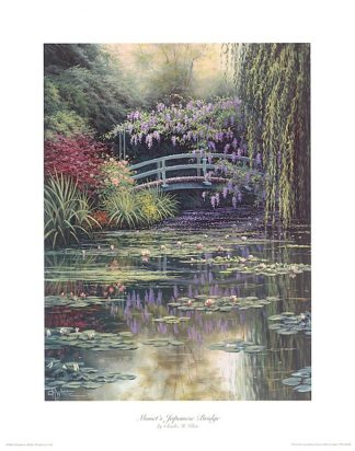 W689 - White, Charles - Monet's Japanese Bridge