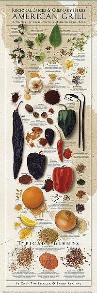 Z144 - Ziegler/Keating - Regional Spices - American Grill