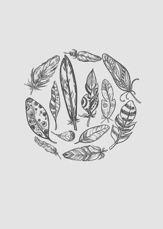 IN99124 - Incado - Feather Circle