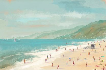 O315D - Oswald, Pete - Santa Monica Beach