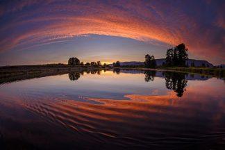 K2608D - Kostka, Vladimir - Canoe Sunset