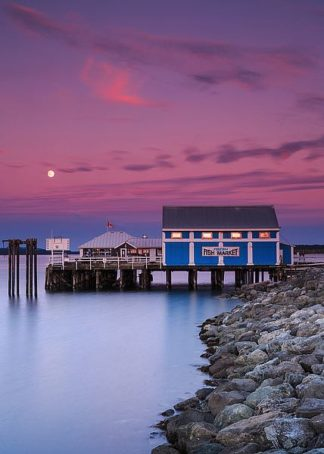 S1593D - Severn, Shawn/Corinne - Moon Over Sydney Fish Market