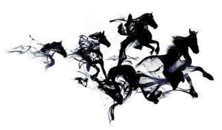 F664D - Farkas, Robert - Black Horses