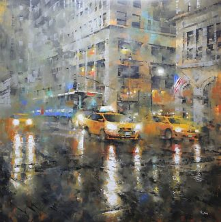 L893D - Lague, Mark - Manhattan Orange Rain