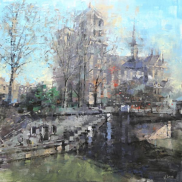 L895D - Lague, Mark - Notre Dame on the Seine