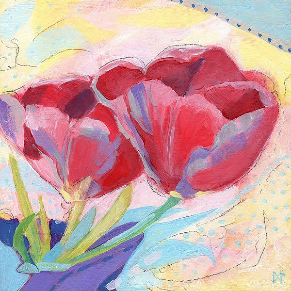 N328D - Nemcosky, Ann Thompson - Tulips No. 2