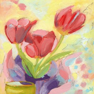 N329D - Nemcosky, Ann Thompson - Tulips No. 3
