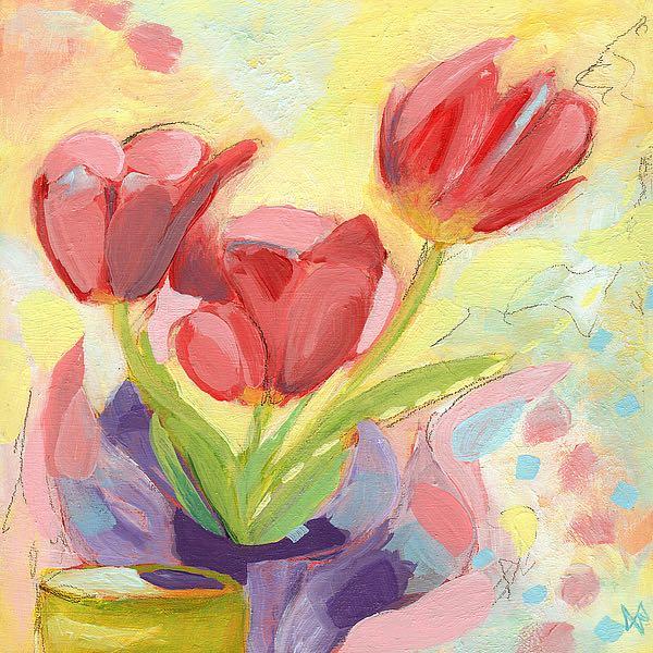 N329D - Nemcosky, Ann Thompson - Tulips No. 3
