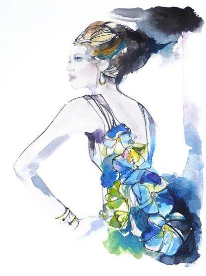 R1159D - Rideout, Schuyler - Flower Dress