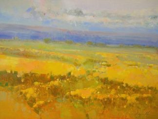 Y36D - Yeremyan, Vahe - Field of Yellow Flowers