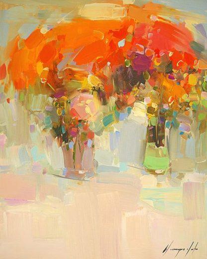 Y41D - Yeremyan, Vahe - Vase of Yellow Flowers 1