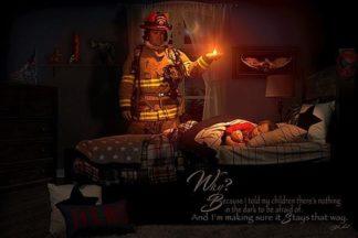 B3583 - Bullard, Jason - Keeping the Flame (Firefighter)