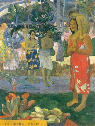 G977D - Gauguin, Paul - la Orana Maria (Hail Mary)