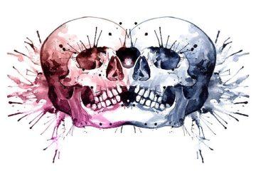 N330D - Nagel, Sam - Conjoined Skull