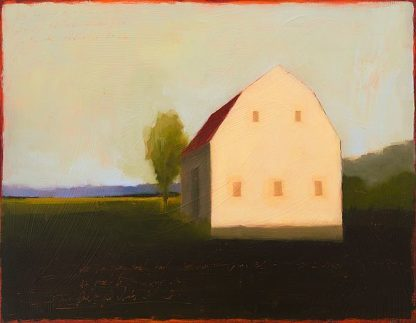 H1448D - Helgeson, Tracy - Moody White Gambrel
