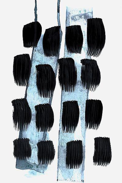 L900D - Lehnhardt, Iris - Black White Blue