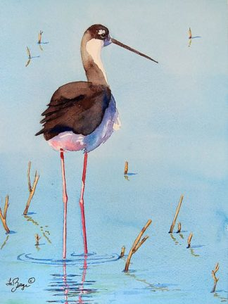 M1525D - Muren, Nancy LaBerge - Black Neck Stilt III