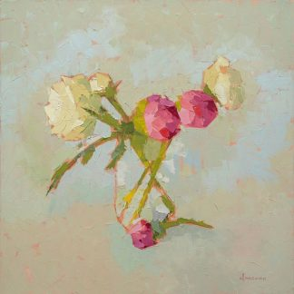 M1567D - Maguire, Carol - Peonies In Glass
