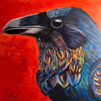 S1660D - Symons, Melissa - Glistening Raven