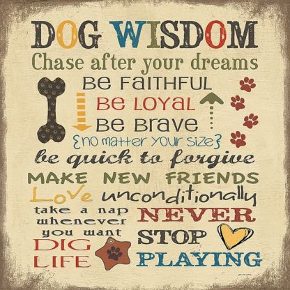 SBJM11498 - Moulton, Jo - Dog Wisdom