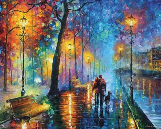 A462 - Afremov, Leonid - Melody of the Night