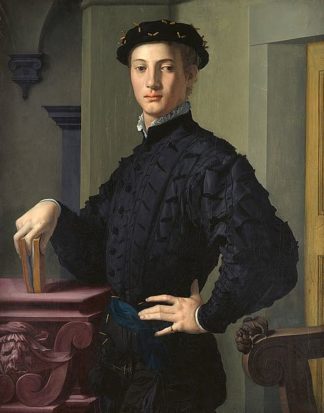 B3610D - Bronzino, Agnolo - Portrait of a Young Man