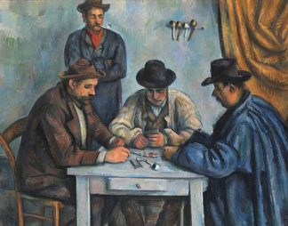 C1192D - Cézanne, Paul - The Card Players