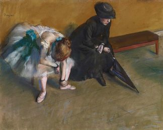 D1089D - Degas, Edgar - Waiting