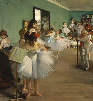 D1090D - Degas, Edgar - The Dance Class