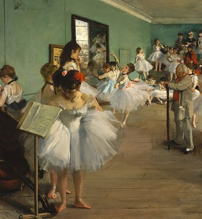 D1090D - Degas, Edgar - The Dance Class