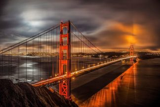 G981D - Gavrilis, John - Golden Gate Evening