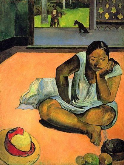 G987D - Gauguin, Paul - La Boudeuse (Te Faaturuma)