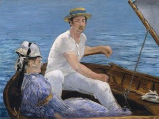 M1573D - Manet, Edouard - Boating