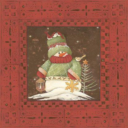SBJM7066 - Moulton, Jo - Red Snowman I