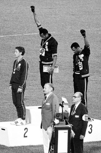 U675 - Unknown - 1968 Olympics - Black Power (Mexico City - 1968)