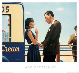 V687 - Vettriano, Jack - The Lying Game