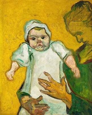 V688D - Van Gogh, Vincent - Madame Roulin and Her Baby